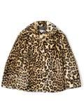 Bonpoint - Leopard Pattern Coat - Kids