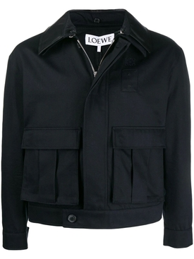 Navy Patch Pocket Jacket