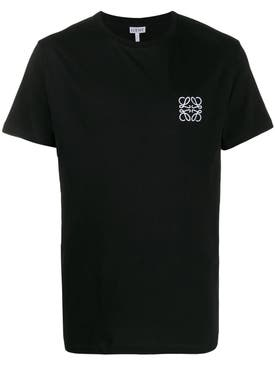Loewe - Embroidered Anagram T-shirt Black - Men