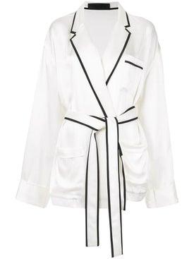 Haider Ackermann - Satin Pyjama Shirt - Blouses