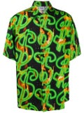 Sss World Corp - Dollar Sign Hawaiian Shirt - Men