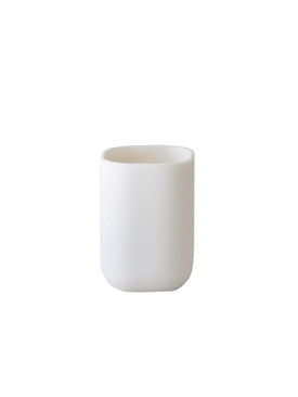 RESIN BATHROOM CUP WHITE