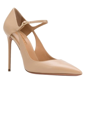 Beige Helmut Pumps