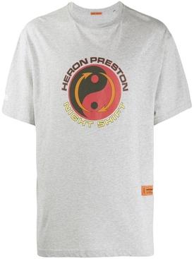 Tao print T-shirt
