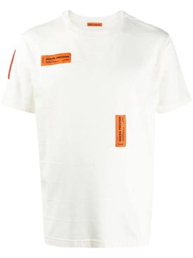 Heron Preston - Front Double Logo T-shirt White - Men