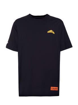 Heron Preston - Black And Yellow Graphic Logo T-shirt - Men