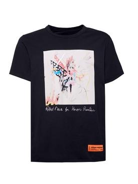 X Robert Nava t-shirt black