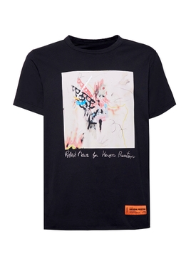 Heron Preston - X Robert Nava T-shirt Black - Men