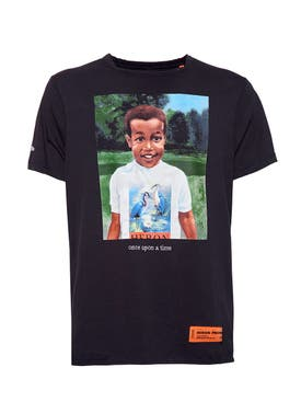 Heron Preston - Once Upon A Time T-shirt Black - Men