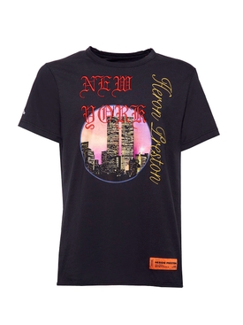 Twin towers t-shirt black