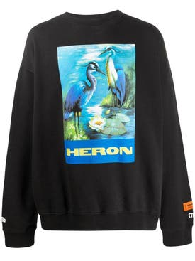 Heron Preston - Multicolored Graphic Print Sweatshirt - Men