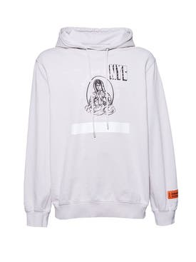 Heron Preston - Light Grey Holy Spirit Hoodie - Men