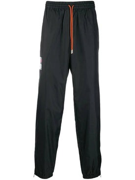 Heron Preston - Drawstring Track Pants Black - Pants