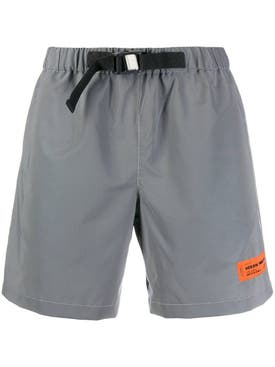 Heron Preston - Grey Logo Shorts - Men
