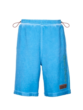 Heron Preston - Blue New York Logo Shorts - Men