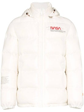 Heron Preston - Nasa Space Puffer Jacket White - Men