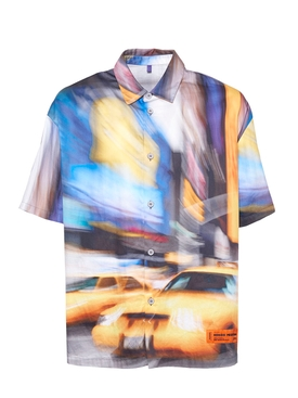 Heron Preston - Multicolored Taxi Baseball Shirt - Men
