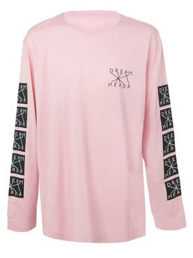 Nico Vascellari - Dream Merda Long Sleeve T-shirt Pink - Men