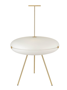 LUNA HORIZONTAL LAMP WHITE