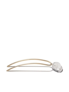 10kt yellow gold hairpin