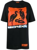 Heron Preston - Heron Bird Print T-shirt Black - Women