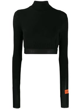 Heron Preston - Cropped Turtleneck Sweater - Women