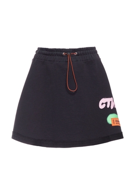 Heron Preston - Graffiti Spray Skirt Black - Women
