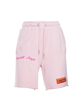 Heron Preston - Concrete Jungle Fleece Shorts Pink - Women