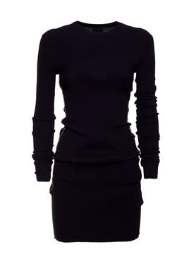 Heron Preston - Black Ribbed Knit Dress - Women