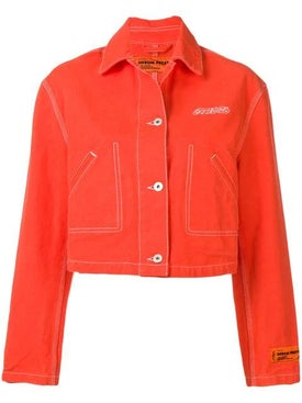 Heron Preston - Cropped Denim Jacket - Women