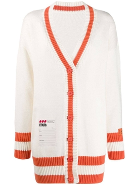 Heron Preston - Contrast Trim Cardigan - Women
