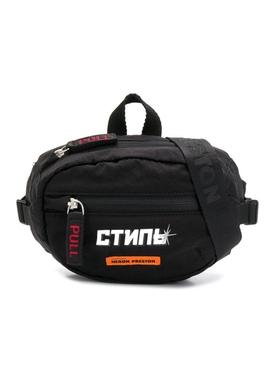 Logo Print Mini Belt Bag BLACK