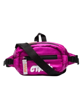 CTNMB Logo Belt Bag FUCHSIA WHITE