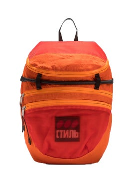 Heron Preston - Ctnmb Foldable Backpack Orange - Women