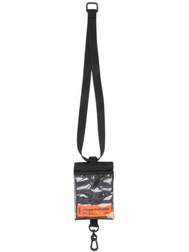 Heron Preston - Passport Keychain Holder Black - Women