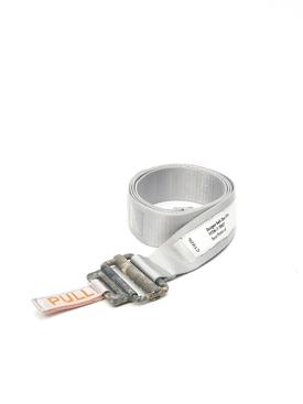 Heron Preston - Reflective Tape Belt Ice Grey - Women