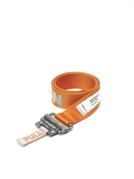 Heron Preston - Reflective Tape Belt Orange - Women