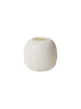 Small Alabaster Stone Candleholder