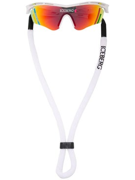 Linda Farrow X Iceberg - Multicolored Visor Sunglasses - Men