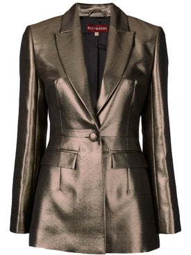 Alexachung - Tailored Metallic Fitted Blazer - Women