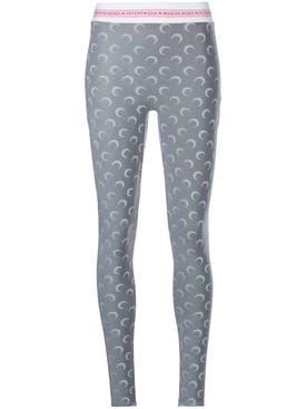 Marine Serre - Moon Print Stirrup Pants - Women