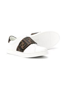 Kids Velcro FF Monogram Sneaker