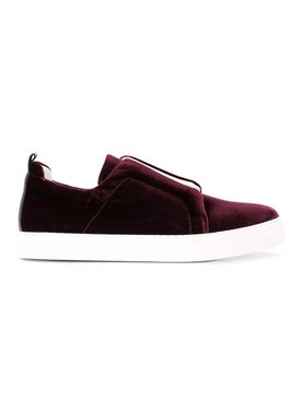 Pierre Hardy - Velvet Slider Sneakers - Women