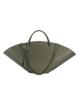 Sombrero top-handle bag MEDIUM GREEN