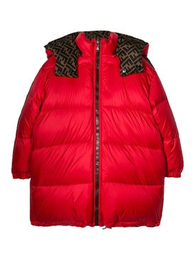 Fendi Kids - Kids Reversible Puffer Jacket - Jackets