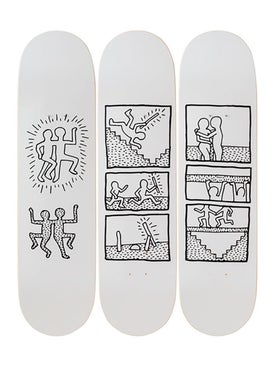 The Skateroom - Keith Haring Untitled 1981 - Home