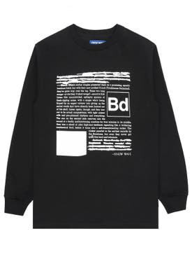 Know Wave - Black Dice Everyone's A Critic Black Long Sleeve T-shirt - Men