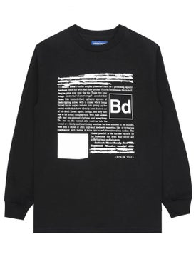 Know Wave - Black Dice Everyone's A Critic Black Long Sleeve T-shirt - Long Sleeve