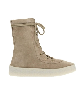 Yeezy - Taupe Suede Lace-up Boots - Men