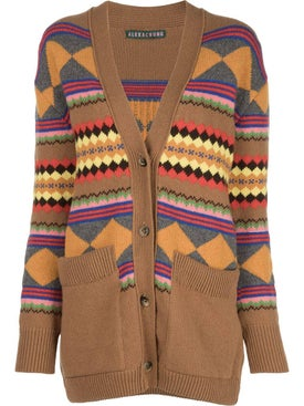 Alexachung - Multicolored Wool Knit Cardigan - Women